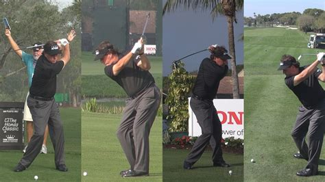 mickelson golf swing phil mickelson 2014 honda classic pro am golf swing