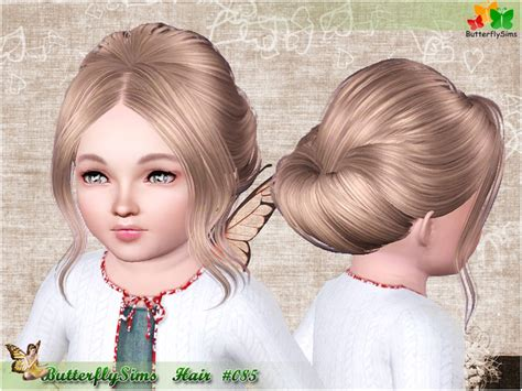 oddler hair sims 3 hairstyle085 hairstyles b fly provide personalized