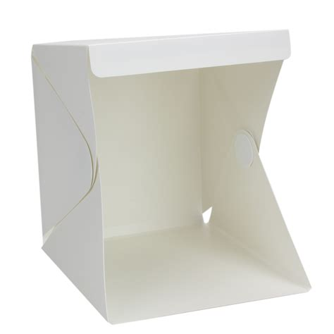 mini light up box foldable lightbox portable light room photo studio