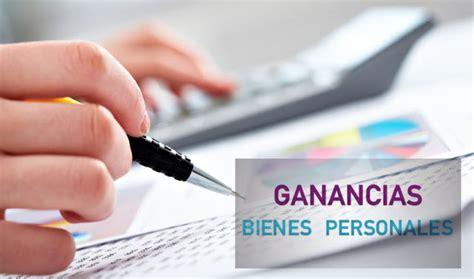 Ganancias Bienes Personales Reduccin De Anticipos   218 ltimo d 237 a para presentar declaraciones de ganancias y