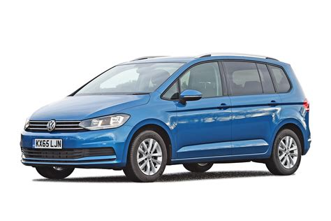 mpv car volkswagen touran mpv review carbuyer