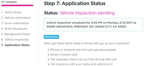 Lyft Background Check Status How To Drive For Lyft In 2018 Becomearidesharedriver