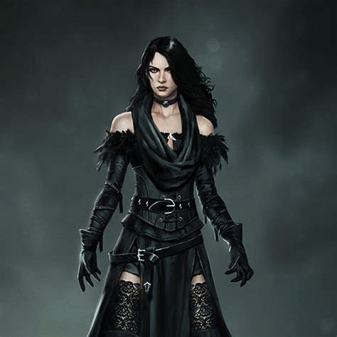 witcher 3 yennefer alternate look alternative look for yennefer witcher wiki fandom