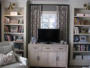 putting a tv in front of a window tv built ins in front of window the colonial pinterest
