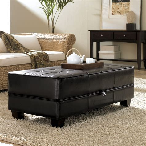 living room ottoman with storage living room awesome cocktail storage ottoman for living