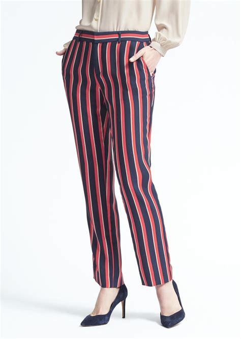 Banana Pant by Banana Republic Fit Multi Stripe Pant Casual