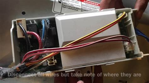 fixing rhe wire harness in a whirlpool duet dryer 49