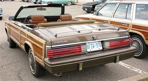 84 Chrysler Lebaron by 1984 Chrysler Lebaron Town And Country Convertible
