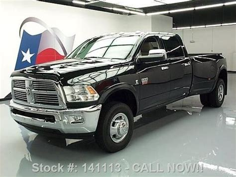 how does cars work 2010 dodge ram 3500 transmission control buy used 2010 dodge ram 3500 laramie crew 4x4 diesel dually nav texas direct auto in stafford
