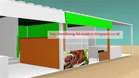 Desain Gerobak Warung | rombong grobak gerobak 3d desain interior warung