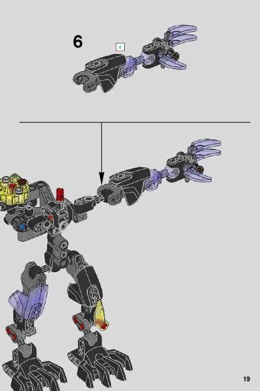 Lego 613 Quake Beast lego quake beast 71315 bionicle