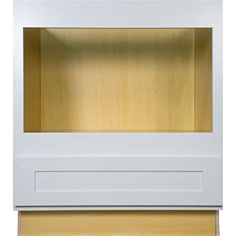 30 inch microwave base cabinet everyday cabinets 33 inch microwave base cabinet in shaker