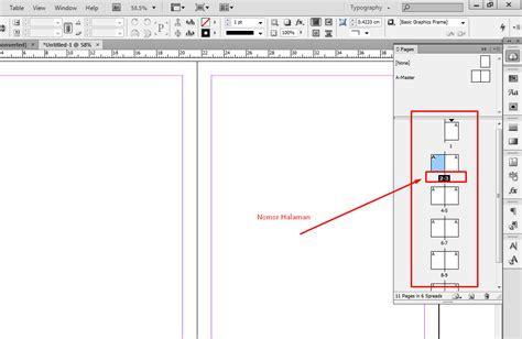 Membuat Nomor Halaman Di Indesign Cs6 | cara membuat nomor halaman otomatis pada adobe indesign
