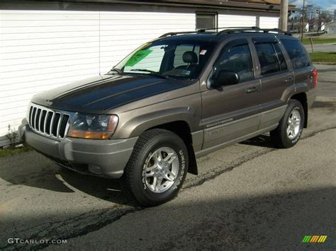 2000 taupe metallic jeep grand laredo 4x4 22982413 gtcarlot car color