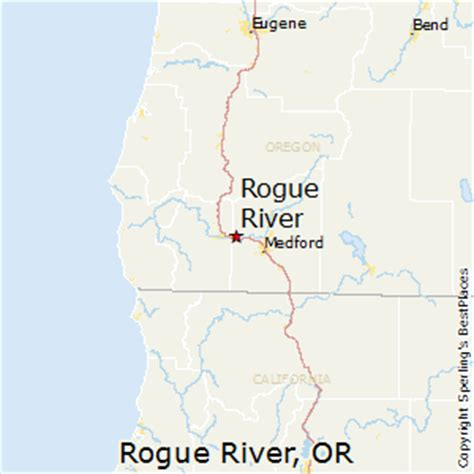 rogue river map oregon best places to live in rogue river oregon