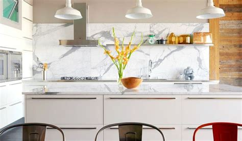marble kitchen designs marble white and grey backsplash interior design ideas