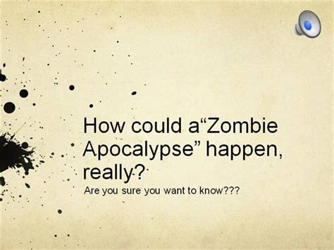 powerpoint templates zombie zombie apocalypse rhetoric authorstream
