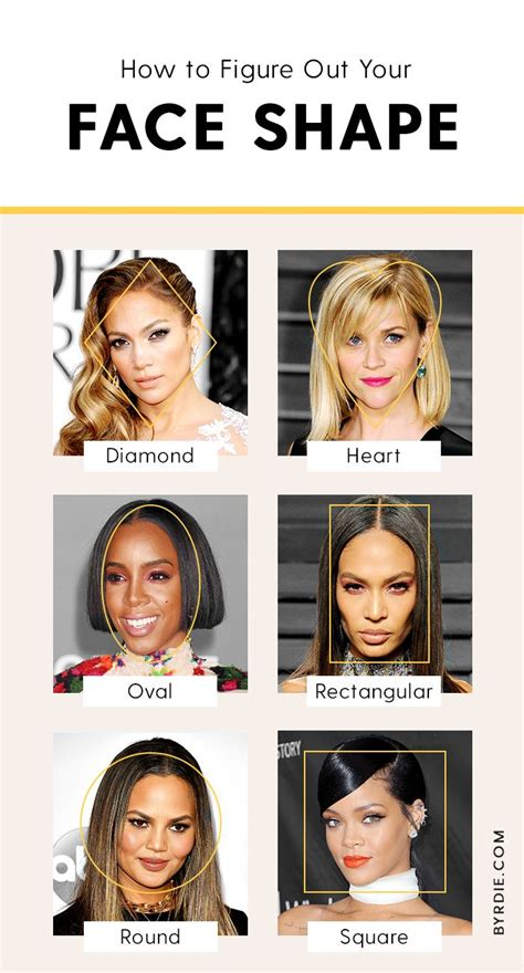 haircut for face shape app how to figure out your face shape once and for all byrdie