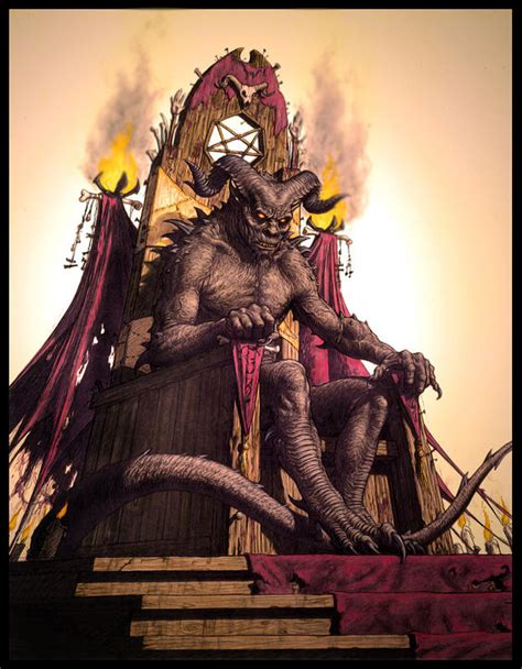 Throne Of Demons by Satan On His Throne Foto 2017