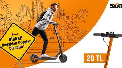 otomobil kiralayana elektrikli scooter hizmeti soezcue
