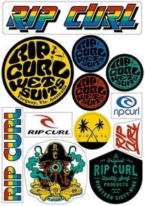 Rip Curl Free Stickers free rip curl stickers myfreeproductsles