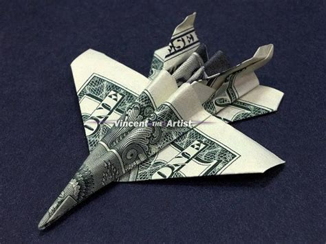 origami f 18 money origami jet fighter f 18 airplane dollar bill