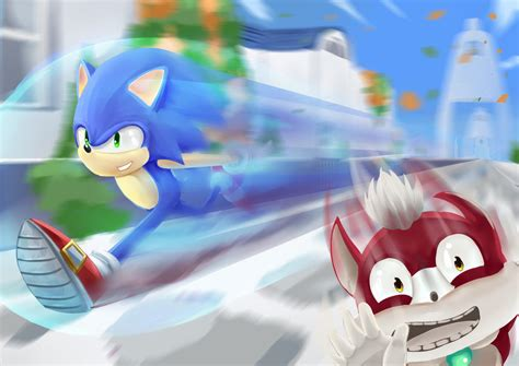 sonic day sonic unleashed apotos day by kevinramadhan on deviantart