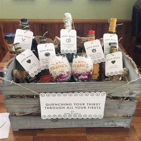 Wedding Shower Gift Basket Ideas by 25 Unique Bridal Gift Baskets Ideas On