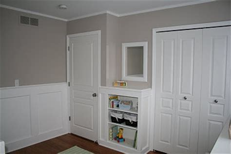 wainscoting baby room how to decorate a transitional nursery
