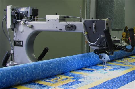 Gammill Arm Quilting Machine For Sale by Machinequilter King Tut At The Quilt Room