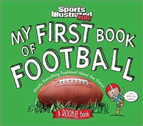 football picture books my book of football a rookie book picture book depot