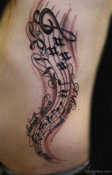 musical tattoo design tattoos designs pictures