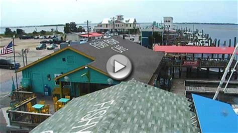 fishy cafe southport nc webcam | vacation webcams