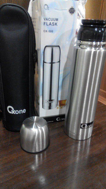 Suggo Cetakan Kue sale oxone botol termos air minum 500ml 2in1 vacuum flask