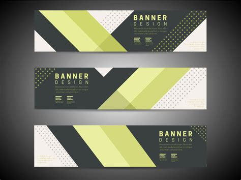abstract background banners design  modern style
