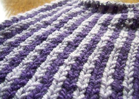 knit 1 below trinknitty knit one below scarf