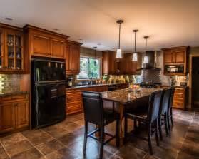 black appliances kitchen design ideas remodels amp photos black appliances2