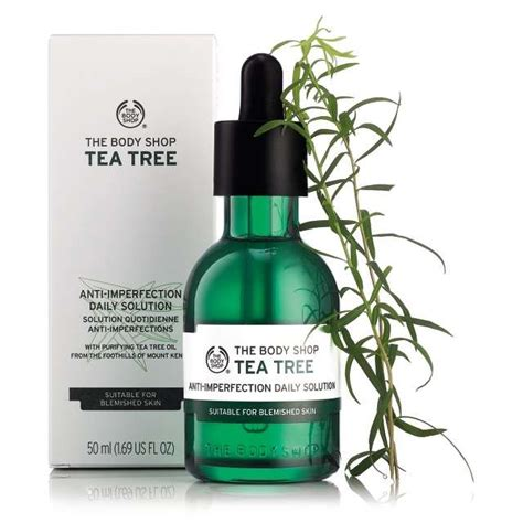 Pelembab The Shop Tea Tree skincare tea tree anti imperfection daily solution the shop