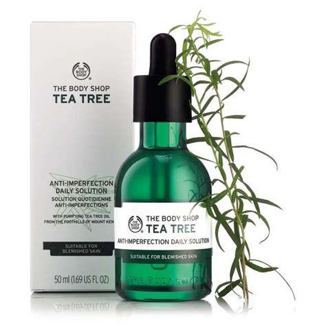 Pelembab Tea Tree The Shop skincare tea tree anti imperfection daily solution the shop