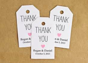 thank you tag template favor tags wedding favor tag bridal shower favor thank by