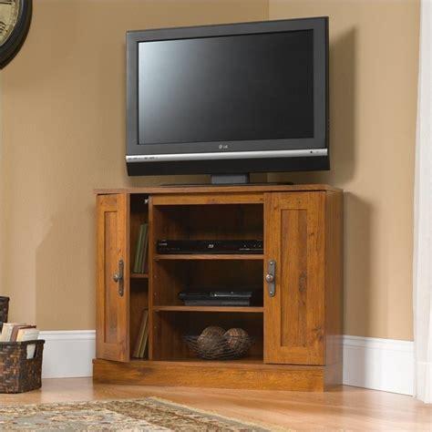 sauder corner tv cabinet corner tv stand 404962