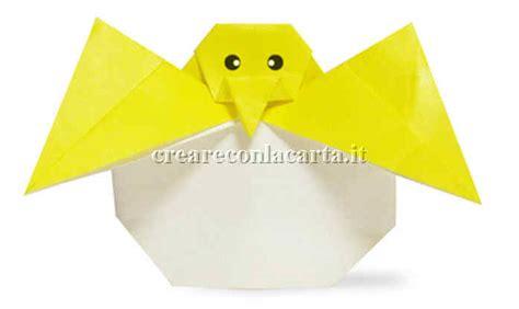 Origami Möbel 3473 by Un Pulcino Origami Per La Vostra Pasqua In Modo Facile E