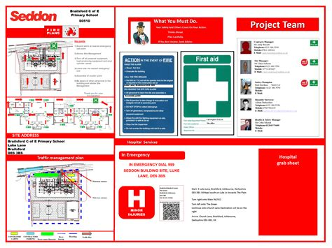 site traffic management plan template 187 traffic management and emergency procedure board best