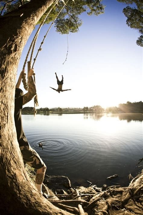 lake rope swing lake rope swing hell ya pinterest