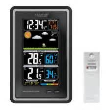 la crosse deluxe colour display weather station canadian
