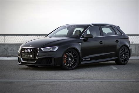 Audi Rs3 Mtm by Mtm Pumps Up Audi Rs3 With Big Power Forcegt