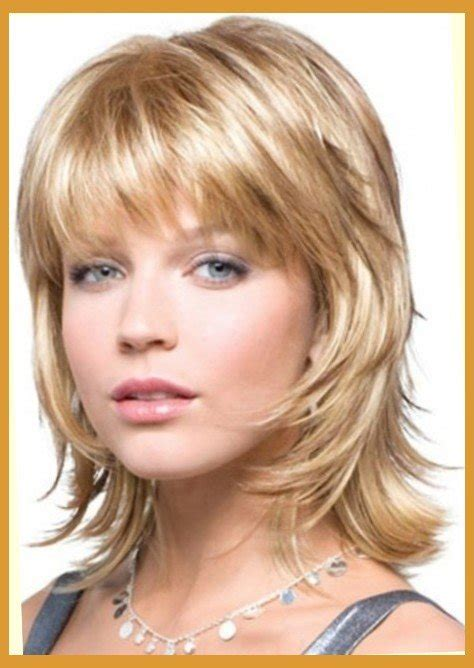 medium length hairstyles for heavy set short shag cut with regard to invigorate hairstyles pictures