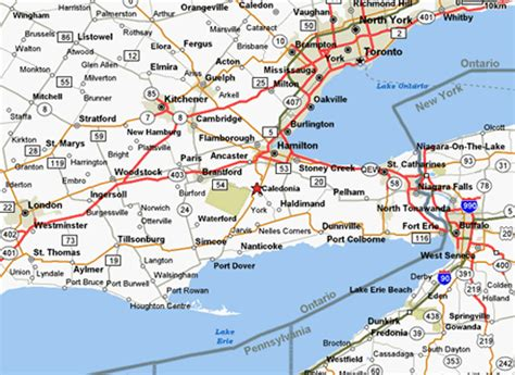 printable road maps ontario southern ontario map related keywords suggestions