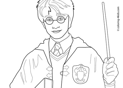 Harry Potter Coloring Pages Bestofcoloring Com Harry Potter Free Coloring Pages