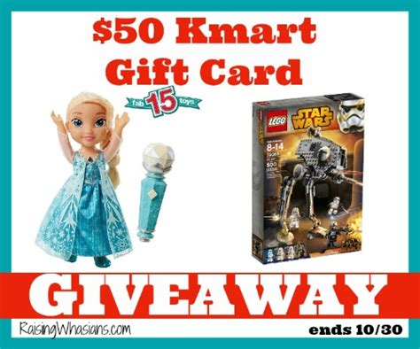 Can I Use A Kmart Gift Card At Sears - kmart 50 gift card giveaway